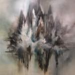 """no title"" acrylic paint on canvas, 150 x 150 cm, 2016"