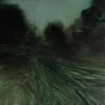 « Rivière verte » Oil on canvas, 150x150 , 2017