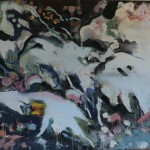 Tribute to Kokoschka II, 100x110 cm, oil on linen, 2017/18