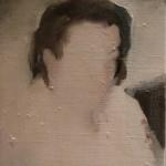 Portrait #4 Dringenberg, oil on linen, 30×24 cm, 2016